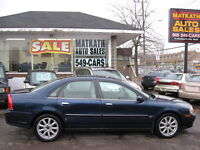 **2004 Volvo S80  A.W.D. Sedan**  Certified & E-tested2004