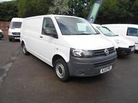Volkswagen Transporter T30 LWB 2.0TDI 102PS VAN DIESEL MANUAL WHITE (2013)