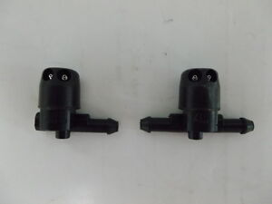 Genuine-Holden-New-Twin-Jet-Washer-Nozzle-Set-of-2-Suits-VY-VZ-WK-WL-Models