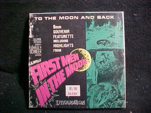 First Men in the Moon- 8mm Columbia Films Movie-FANTASTIC - Featurette