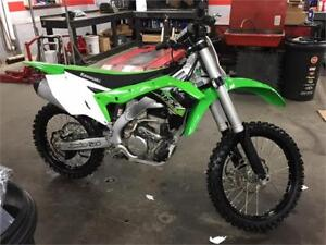 2017 Kawasaki KX 250 - RACE DEMO WITH 10 HRS - SAVE $2900