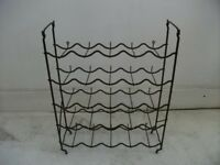 Wine Rack for 25 bottles . Size : H=60cm , W=46cm , D=16cm .