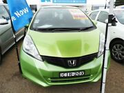 2012 Honda Jazz GE MY12 GLi Green Automatic Hatchback Minchinbury Blacktown Area Preview