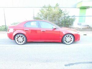 2009 Alfa Romeo 159 MY09 JTS Q4 Ti Red 6 Speed Sports Automatic Sedan Beverley Charles Sturt Area Preview