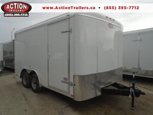 LOWEST PRICE FOR 2016 ATLAS 8X14' ENCLOSED CARGO -$5399 WOW London Ontario image 1