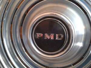 """15"""" Pontiac Motor Division-PMD-wheel covers-hubcaps"""