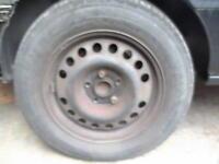 zafira steel wheels