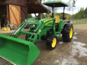 John Deere 4120LV Compact Utility Tractor (360Hrs)