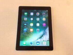 "64GB Black iPad 4 - Cellular 4G LTE - 9.7"" Retina Display - GPS"