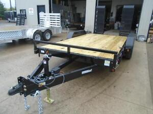 7 ton equipment trailer 83'' x 16' long w/ $500 IN FREE UPGRADES London Ontario image 2