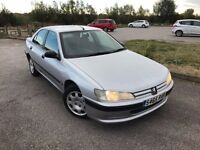 Peugeot 406 1.9 TD LX S Limited Edition 4dr (a/c), NEW MOT,2 OWNERS,HPI CLEAR