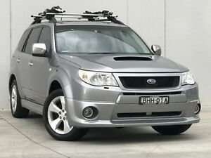 2008 Subaru Forester S3 MY09 XT AWD Premium Silver 5 Speed Manual Wagon Kings Park Blacktown Area Preview