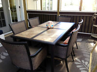 Saratoga 7-piece dining set