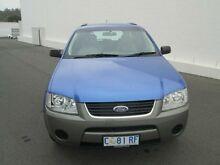 2004 Ford Territory SX TS (4x4) Blue 4 Speed Auto Seq Sportshift Wagon Devonport Devonport Area Preview