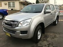 2013 Isuzu D-MAX TF MY12 SX HI-Ride (4x2) Silver 5 Speed Automatic Crewcab Young Young Area Preview