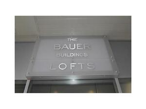Two Bedroom Condo in The Bauer Lofts!