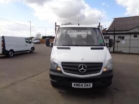 Mercedes-Benz Sprinter 313 LWB DROP SIDE EURO 5 DIESEL MANUAL WHITE (2014)