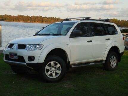 2012 Mitsubishi Challenger LS (4x2) White Automatic Wagon Lansvale Liverpool Area Preview