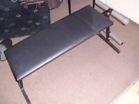 weight bench- decline bench- sit up bench- fold up type
