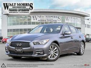 2014 INFINITI Q50 PREMIUM: LOCALLY OWNED, LOW MILEAGE