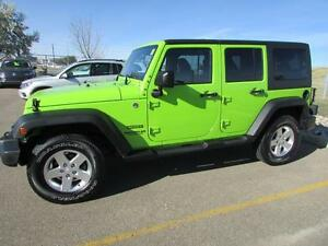 2013 Jeep Wrangler Unlimited SPORT 4x4