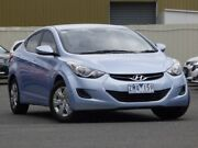 2012 Hyundai Elantra MD Active Blue 6 Speed Sports Automatic Sedan Diggers Rest Melton Area Preview