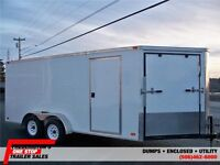 2011 PROLINE 7 X 16 SNOWMOBILE TRAILER