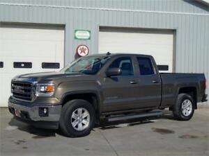 2014 GMC Sierra Double Cab 4x4 SLE - One Owner & ONLY 71,600 KM'