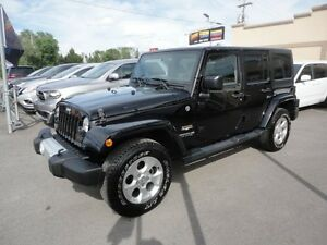 Jeep Wrangler 2015 Unlimited-Sahara-4WD-Alpine a vendre