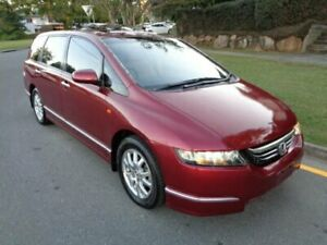 2005 Honda Odyssey 20 Luxury Red Metallic 5 Speed Sequential Auto Wagon Chermside Brisbane North East Preview