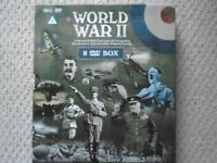 World War 11 collection of DVD 6 Box set