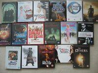 20 various DVD films adventure si-fi comedy suspense - southbourne