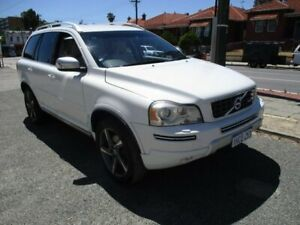 2012 Volvo XC90 P28 MY12 D5 Geartronic R-Design White 6 Speed Sports Automatic Wagon West Perth Perth City Area Preview
