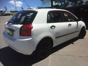 2001 Toyota Corolla ZZE122R Ascent Seca White 5 Speed Manual Hatchback Greenacre Bankstown Area Preview