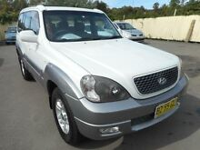 2004 Hyundai Terracan 05 Upgrade White 4 Speed Automatic Wagon Edgeworth Lake Macquarie Area Preview