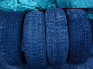FIRESTONE WINTERFORCE  185/60/15