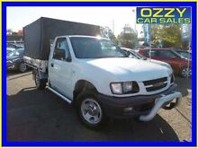 2001 Holden Rodeo TFR9 LX White 5 Speed Manual Cab Chassis Penrith Penrith Area Preview