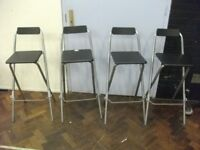 4 Stools . £40 for the set .