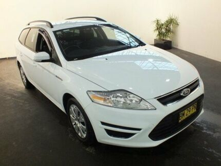 2011 Ford Mondeo MC LX Tdci Frozen White 6 Speed Direct Shift Wagon Clemton Park Canterbury Area Preview