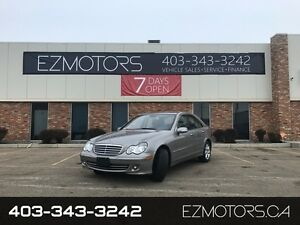 2007 Mercedes-Benz C280--AWD--ONLY 90000KMS