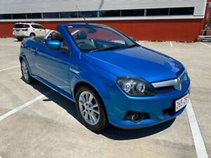 2005 Holden Tigra XC Blue 5 Speed Manual Convertible Morayfield Caboolture Area Preview