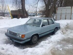1987 PLYMOUTH RELIANT K CAR