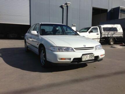 1994 Honda Accord VTi Alpine White 4 Speed Automatic Sedan Spotswood Hobsons Bay Area Preview