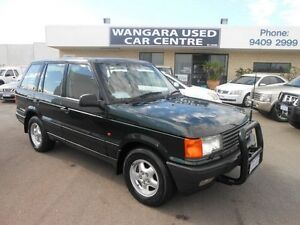 1996 Land Rover Range Rover HSE Green 4 Speed Automatic Wagon Wangara Wanneroo Area Preview