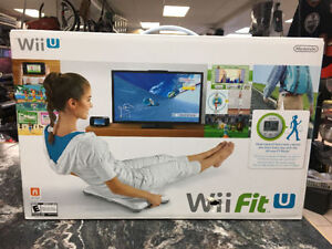 BRAND NEW IN BOX WII FIT WII-U NINTENDO SYSTEM  We are open till