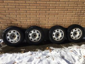 Toyo Winter tires and Rims  205 70 R15