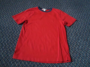 Boys Size 10 Red Short Sleeve T-Shirt