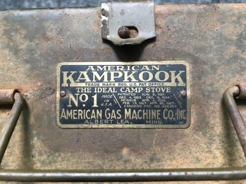Vintage (1927) American KampKook No.1 - The Ideal Stove