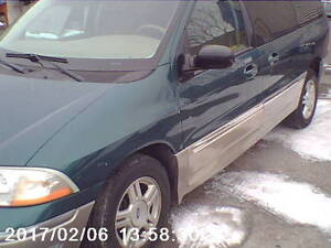 2003 windstar  back entry saftey an e/tested 144.00 klicks