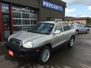 2004 Hyundai Santa Fe GL Kitchener / Waterloo Kitchener Area image 1